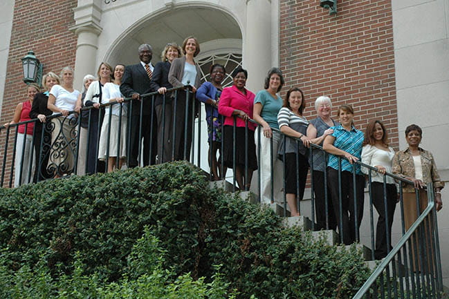 CES-P participants in front of the MUSC College of Nursing