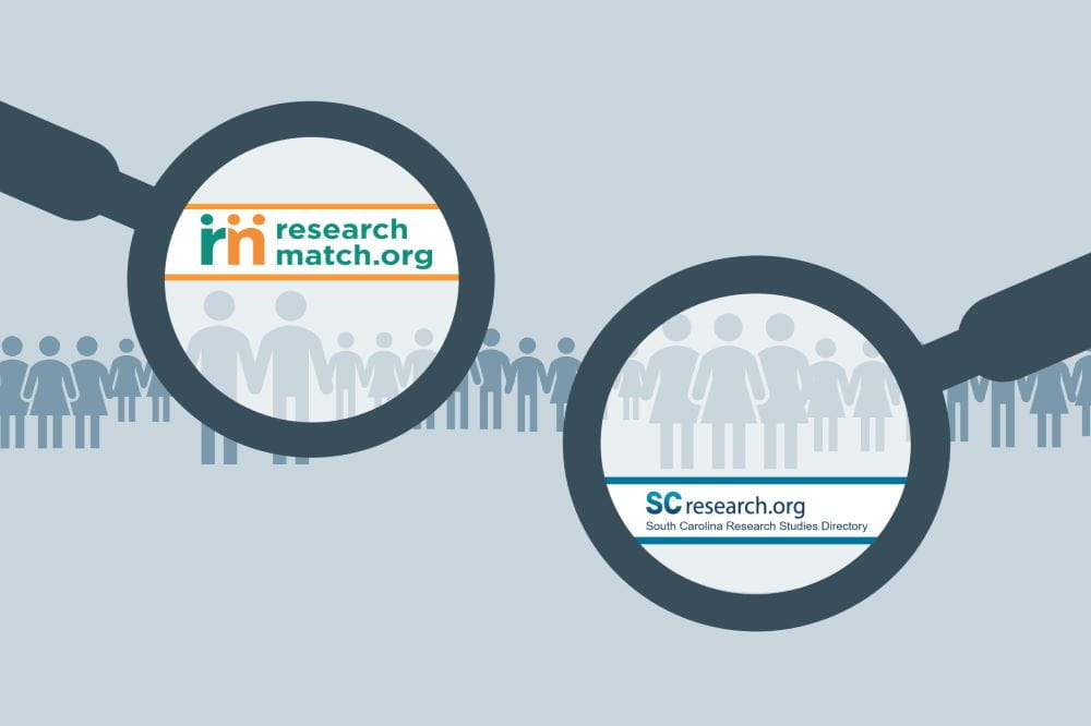 SCresearch.org and ResearchMatch are two online recruitment tools available to MUSC researchers.