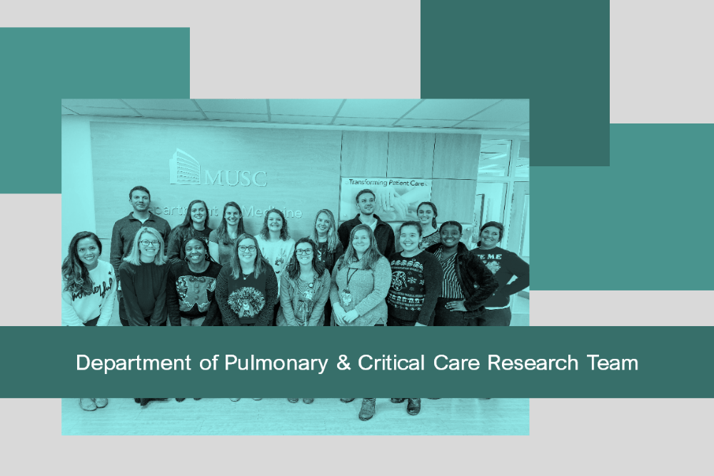 Department of Pulmonary & Critical Care Research Team