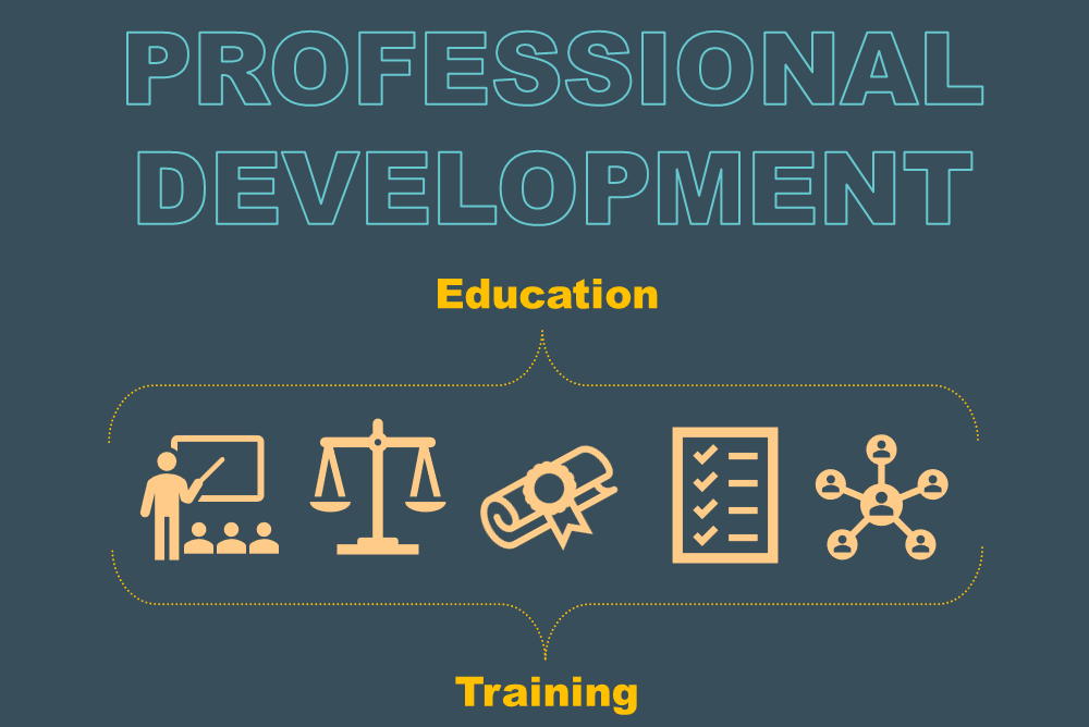 Graphic for SCTR's education and training opportunities for the professional development of researchers.